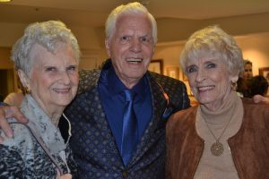 Three Highlands at Pittsford residents who modeled in the annual Fashion Show fundraiser